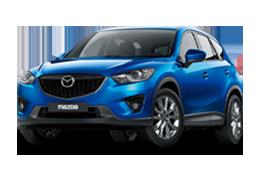 Накладки на пороги для Mazda (Мазда) CX-5 I 2011-2017