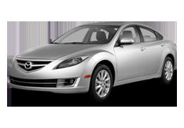 Накладки на пороги для Mazda (Мазда) 6 II (GH) 2007-2013