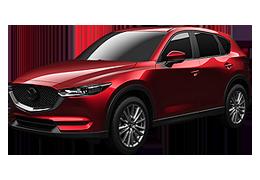 Накладки на пороги для Mazda (Мазда) CX-5 II 2017+