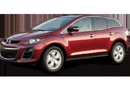 Накладки на пороги для Mazda (Мазда) CX-7 2006-2012