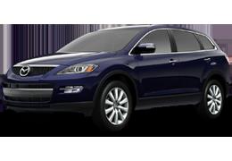 Накладки на пороги для Mazda (Мазда) CX-9 I (TB) 2007-2016