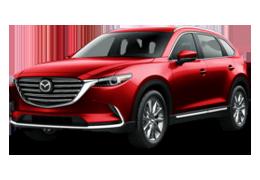 Накладки на пороги для Mazda (Мазда) CX-9 II (TC) 2016+