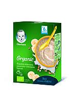 """Молочная каша Gerber® Organic """"Пшенично-овсяная с бананом"""", 240г"""