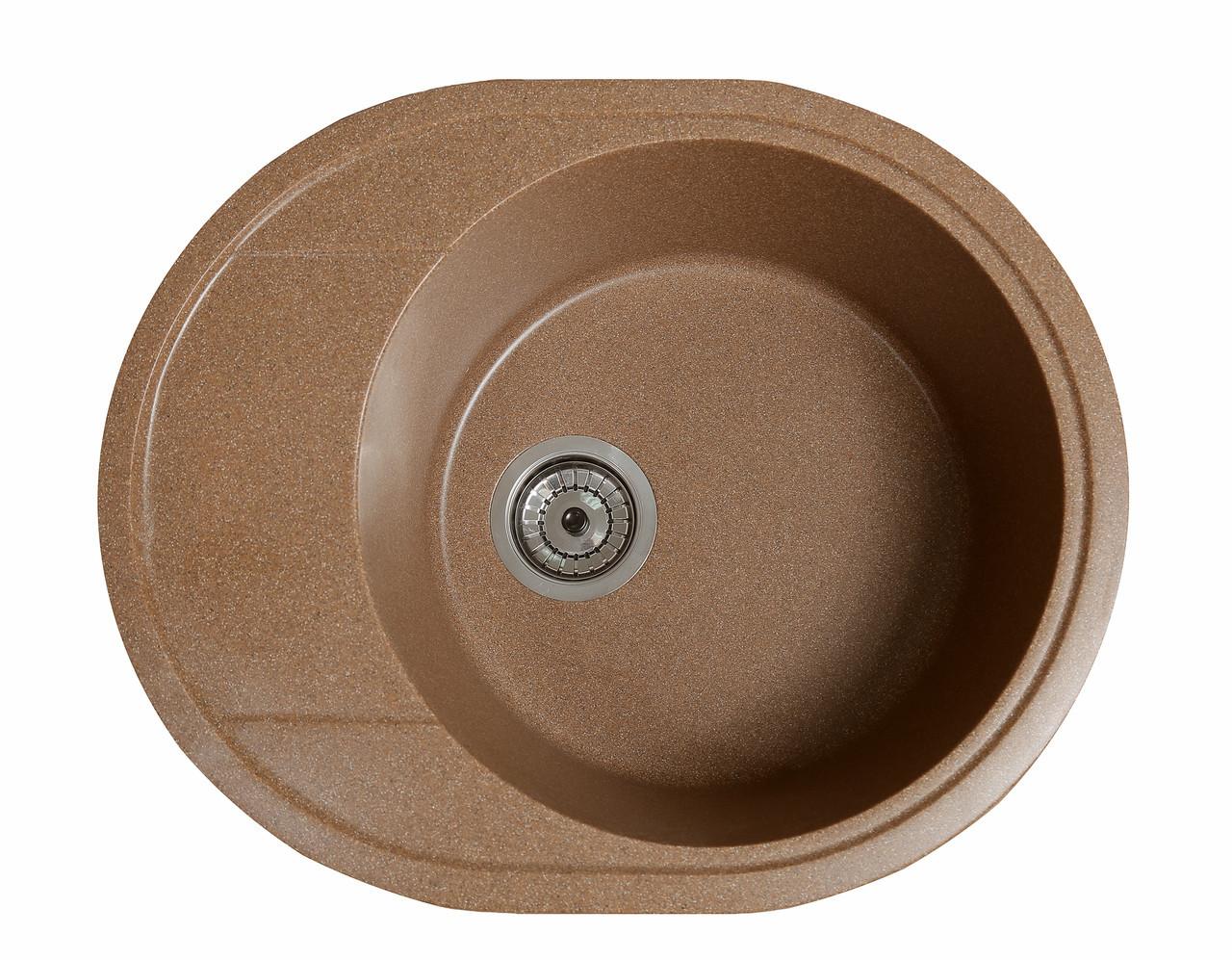 Кухонна мийка гранітна Galati Voce Teracota (701) 3337 теракот