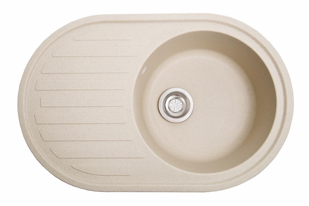 Кухонна мийка гранітна Galati Elegancia Avena (501) 8686 авена