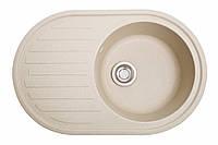 Кухонна мийка гранітна Galati Elegancia Avena (501) 8686 авена, фото 1