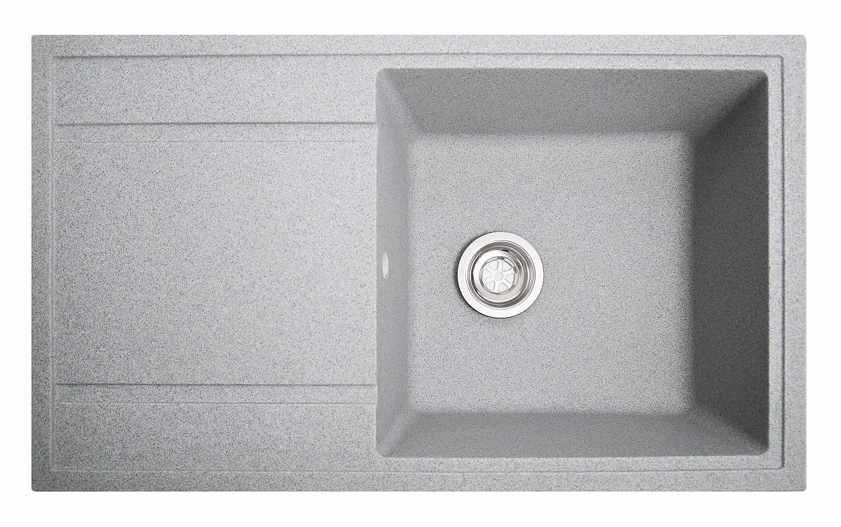 Кухонная мойка гранитная Galati Jorum 86 Seda (601) 10506 серый