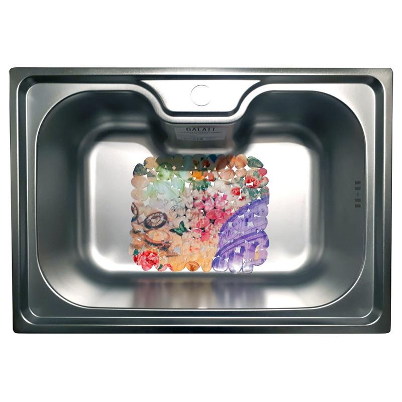Кухонна мийка стальна Galati Bella Satin 9657