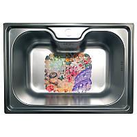 Кухонна мийка стальна Galati Bella Satin 9657, фото 1