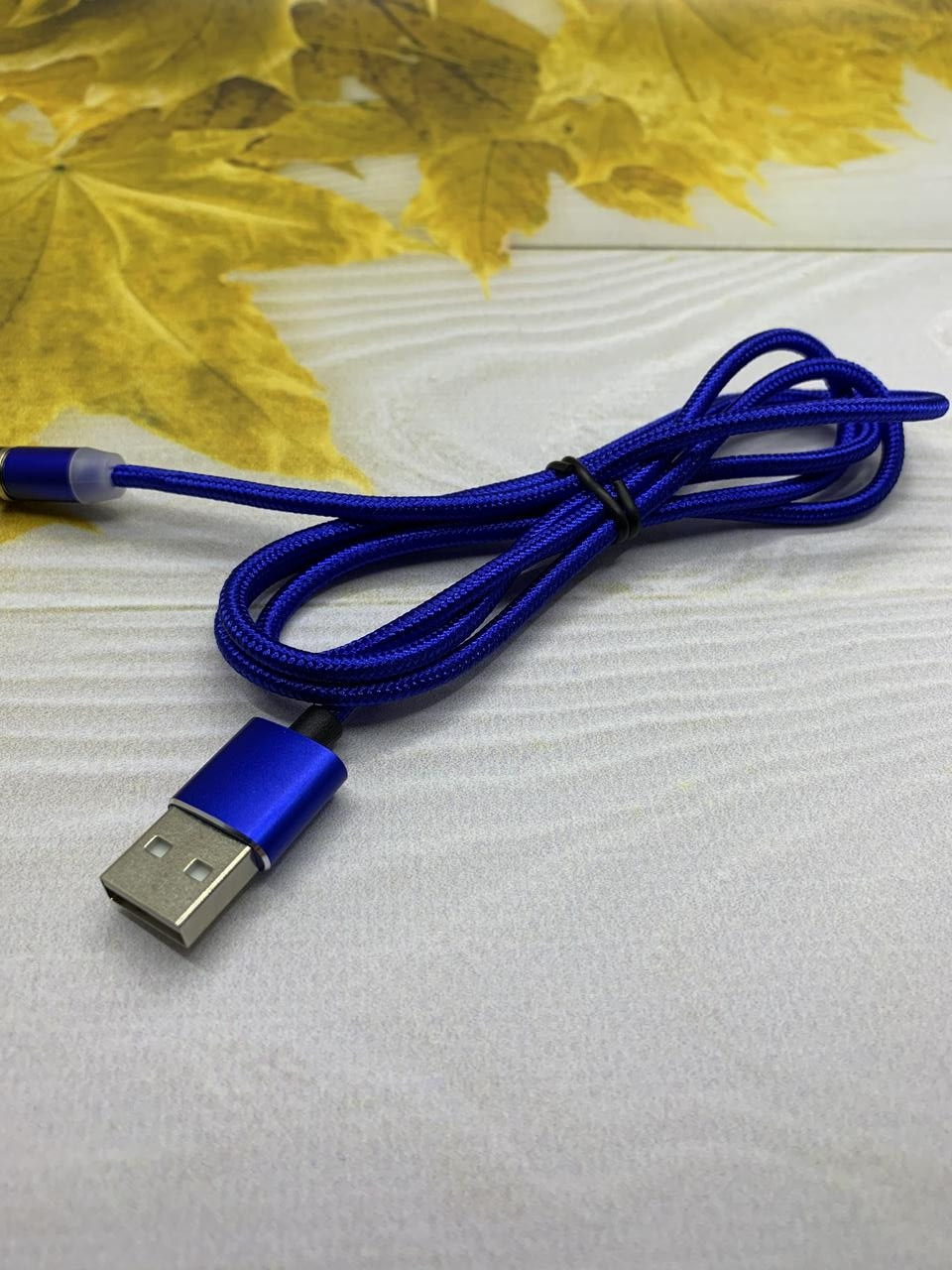 Магнитный Micro USB кабель 1метр зарядный шнур с подсветкой