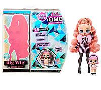 Кукла ЛОЛ ОМГ Леди Стайл O.M.G Big Wig Winter Chill L.O.L. Surprise 570264, фото 1