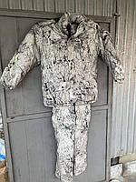 Зимовий костюм для полювання та риболовлі непромокальний СНІГ