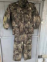 Зимовий костюм для полювання та риболовлі непромокальний ТРАВА