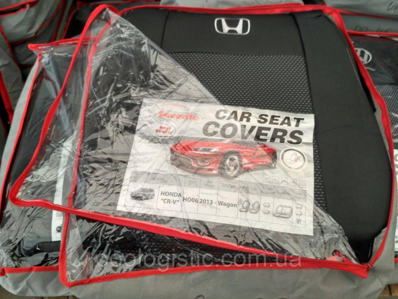 Авточехлы  на Honda CR-V 2013> wagon,авточехлы Фаворит на Хонда CR-V от 2013 года вагон