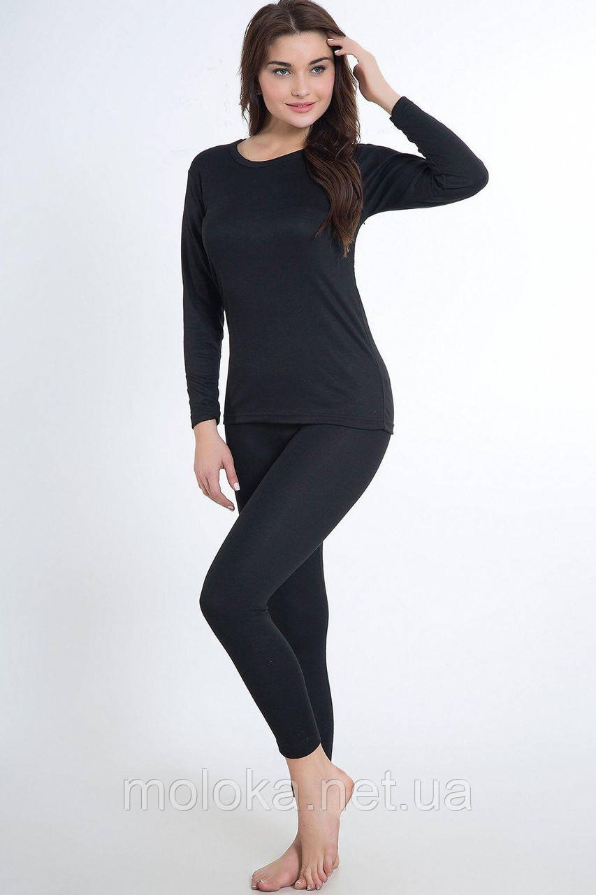 Термокостюм женский JIBER Poly Thermal, чёрный M