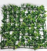 """Для фіто стінки з штучної зелені """"килимок орегано"""" 23*23см,колір зелений, фото 1"""
