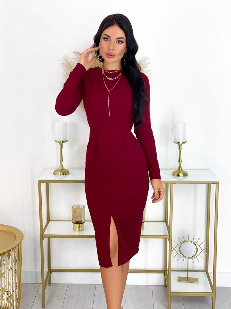 Просте елегантне плаття