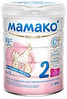 Молочна суміш на козячому молоці Мамако 2 Premium 6-12 міс, 800 г