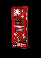 Конфеты Яблоко-вишня в Бельгийском чёрном шоколаде Равлик Боб 30г