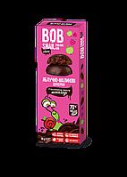 Конфеты Ябл-малина в Бельгийском чёрном шоколаде Равлик Боб 30г