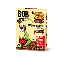 Конфеты Яблоко-груша в Бельгийском молочном шоколаде Равлик Боб 60г