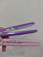 Щипцы гофре для волос в кейсе GEMEI GM-2986W Дорожный утюжок мини, фото 7