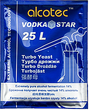 Спиртовые турбо дрожжи Alcotec Vodka Star Turbo Yeast