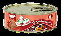 Пюре мясное говядина Фрута пюрешка, 120 г