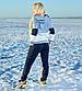 """Женский тёплый спортивный костюм до больших размеров 1162 """"Томми Трёхцвет"""", фото 6"""