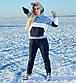 """Женский тёплый спортивный костюм до больших размеров 1162 """"Томми Трёхцвет"""", фото 5"""