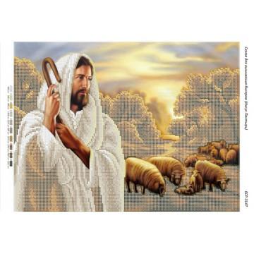 """Схема для вишивки бісером """"Ісус-Добрий Пастир"""" БСР-3147"""