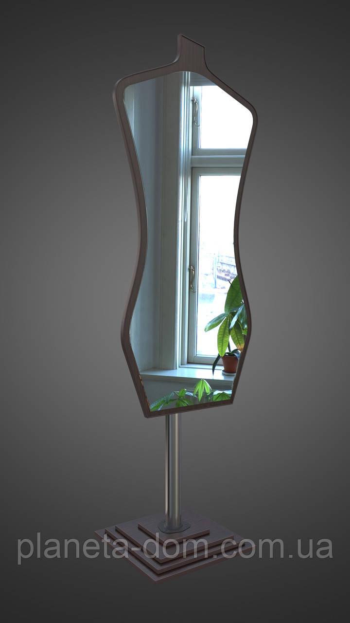Напольное зеркало во весь рост, венге