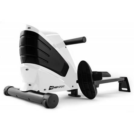 Тренажер для веслування магнітний, гребний тренажер для дому Hop-Sport HS-060R Cross white, фото 2