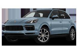 Накладки на пороги для Porsche (Порше) Cayenne 958 2010-2017
