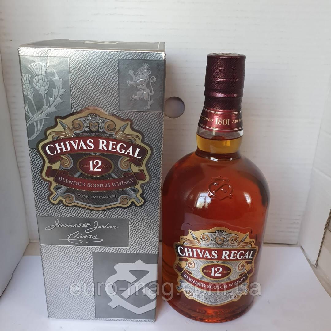 Виски Chivas Regal 12 Y 1 L Чивас  12 лет