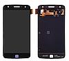 Дисплей (экран) для Motorola XT1635-02 Moto Z Play + тачскрин, черный, TFT, копия