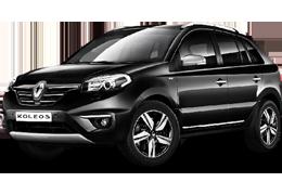 Накладки на пороги для Renault (Рено) Koleos 1 2008-2017