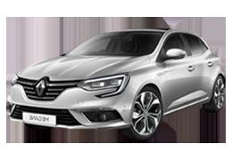 Накладки на пороги для Renault (Рено) Megane 4 2015+