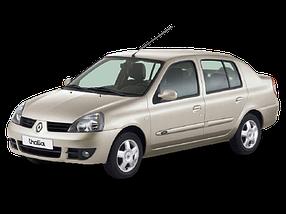 Накладки на пороги для Renault (Рено) Clio 2/Symbol 1 1998-2008