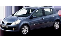Накладки на пороги для Renault (Рено) Clio 3/Symbol 2 2006-2012