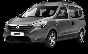 Накладки на пороги для Renault (Рено) Dokker 2012-2016