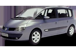 Накладки на пороги для Renault (Рено) Espace 4 2002-2014