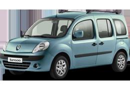 Накладки на пороги для Renault (Рено) Kangoo 2 2008+