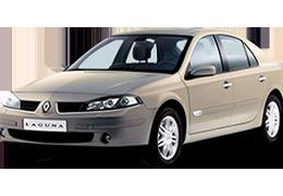 Накладки на пороги для Renault (Рено) Laguna 2 2001-2007