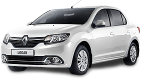 Накладки на пороги для Renault (Рено) Logan Sedan 2 2012-2016+