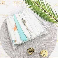 Набор муслиновых платочков для мальчиков Lukoshkino ® (NMP-1)
