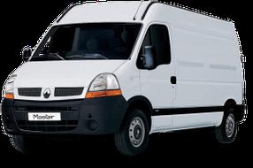 Накладки на пороги для Renault (Рено) Master 2 1997-2010