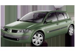 Накладки на пороги для Renault (Рено) Megane 2 2002-2008