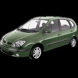 Накладки на пороги для Renault (Рено) Scenic 2 2003-2009