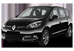 Накладки на пороги для Renault (Рено) Scenic 3 2009-2015